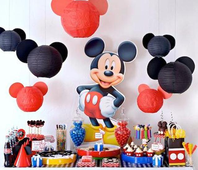 Cumpleaños Mickey Mouse - Inspiración e ideas para fiestas de ...