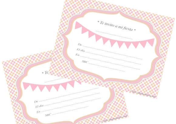 6 Invitaciones de Cumpleaños Ideales - Invitaciones para ...