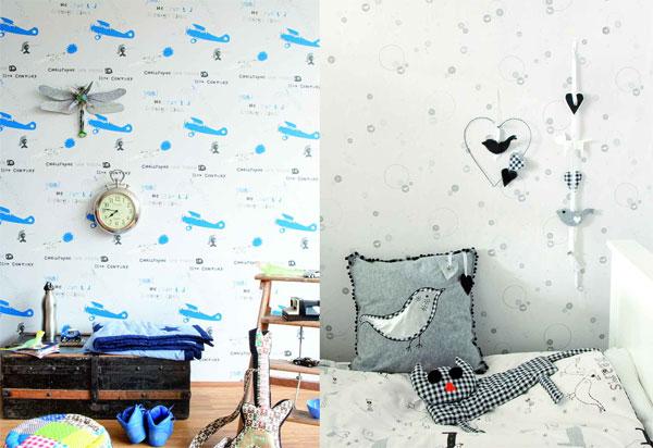 Cuartos pintados con dibujos - Imagui