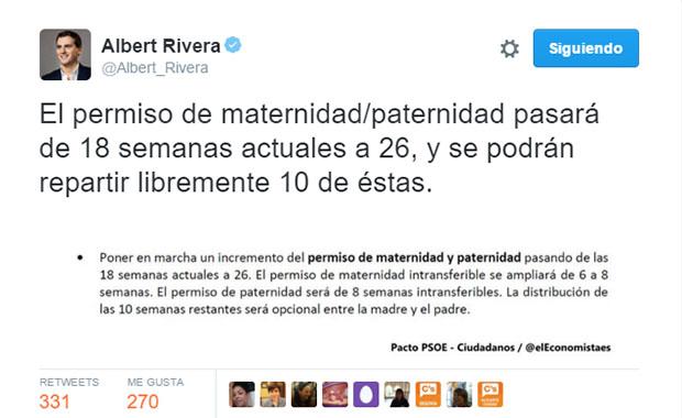 España amplía la baja maternal de 18 a 26 semanas - Empleo y