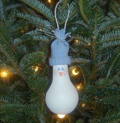 usad la imaginacin y haced figuras originales en vuestras bombillas vuestro rbol de navidad quedar de lo ms original stas fiestas