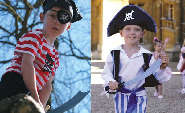 Los mejores disfraces de piratas para niños - Disfraces caseros y ...