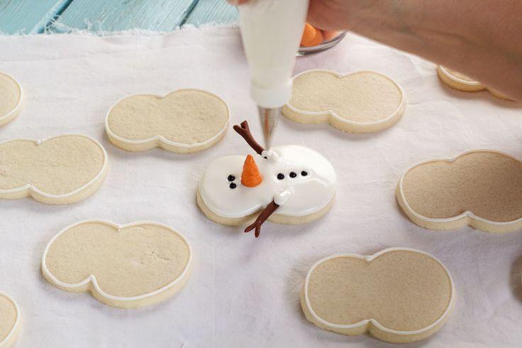 Galletas muñeco de nieve