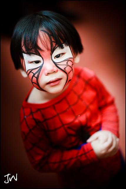 Pintacaras de Spiderman facilisimo - Disfraces caseros y tiendas ...