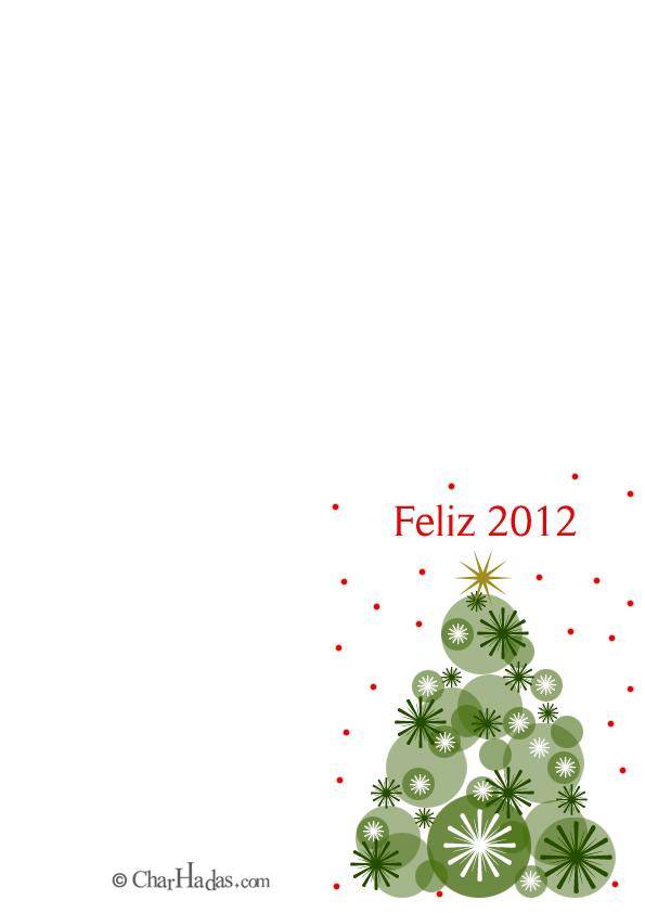 Tarjetas para imprimir: El árbol de Navidad - Especial Navidad 2015