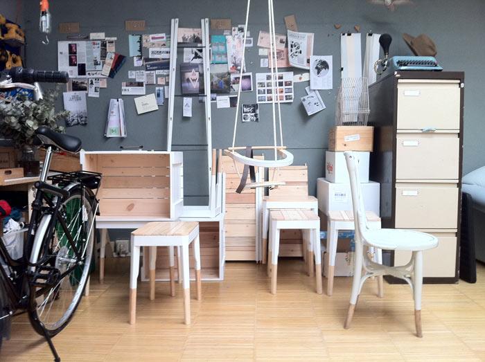 La Clinica muebles ecológicos y ¡a la última!  Muebles y