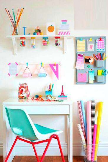 Mesas pupitres y zonas de estudio especial vuelta al - Cosas originales para decorar ...