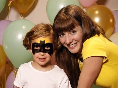 Pintacaras de Batman. Maquillaje para niños