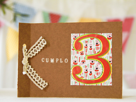 Originales tarjetas de cumplea&ntilde;os para hacer en casa