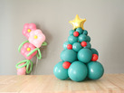 Cmo hacer un rbol de Navidad con globos